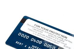 Credit Card Activation - stock photo