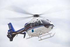 Life Flight Helecopter - stock photo
