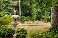 Japanese Pagoda Birdhouse Stock Photos