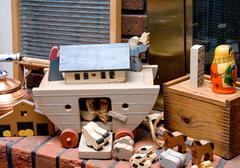 Antique Toys Stock Photos