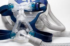 CPAP Mask - stock photo