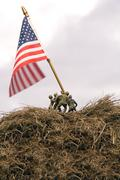Iwo Jima Re-enactment Stock Photos