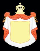 Empty coat of arms Stock Illustration