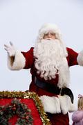 Santa Claus Fuquay Varina Christmas Parade December 6 2009 Kuvituskuvat