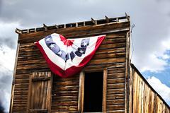 Bodie California Ghost Town Building Americana Kuvituskuvat