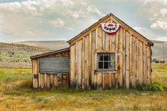 Bodie California Ghost Town Building Americana Color Stock Photos