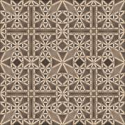 Gothic ceiling - seamless pattern Stock Illustration