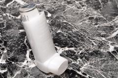 Asthma Inhaler Stock Photos