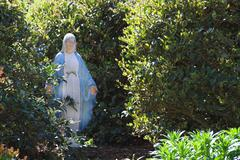Stock Photo of Virgin Mary Statue