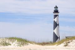 Cape Lookout Lighthouse - stock photo