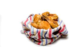 Southern Fried Chicken Stock Photos