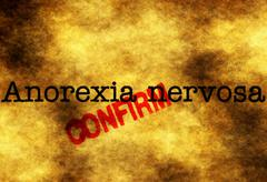 Stock Photo of Anorexia nervosa confirm