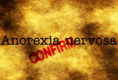 Anorexia nervosa confirm - stock photo