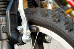 Bike Brakes - stock photo