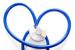 Medical Stethoscope - stock photo