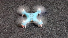 Stock Video Footage of Nano-Drone Takes Off