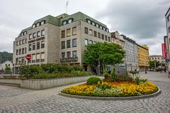 Passau Donau-Center building - stock photo