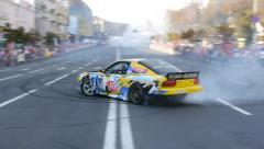 Drift Car, championship - stock footage