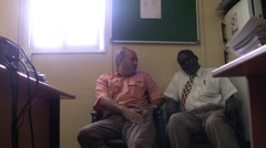 Stock Video Footage of A Man meets with Government Official in South Sudan