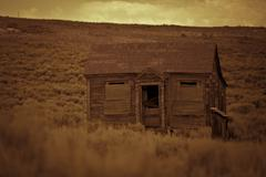 Bodie California Ghost Town Building Americana Cabin Stock Photos