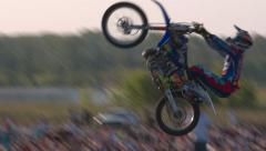 Bike Show Freestyle Motocross Stock Footage