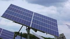 Solar panels Alternative Energy  Stock Footage