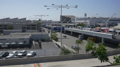 LAX Terminal Two and International Terminal Stock Footage