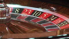 Rotating roulette - stock footage