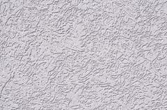 Plastered and painted surface - stock photo