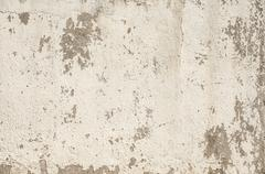 Grunge plastered painted surface - stock photo