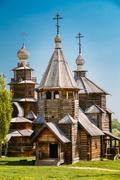 Church Of The Resurrection From Village Of Patakino, Transported - stock photo