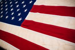 Close-up of United States Flag Stock Photos