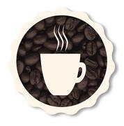 Fresh Coffee - stock illustration