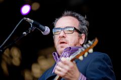 Elvis Costello and the Imposters - stock photo