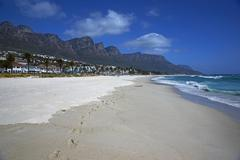 Camps Bay Beach - stock photo