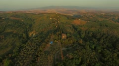 Tuscan Landscape - stock footage
