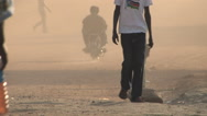 Stock Video Footage of Busy Road in JUBA, SOUTH SUDAN