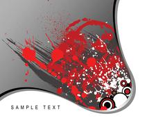 Abstract spotted background - stock illustration