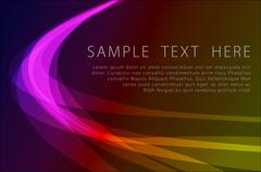 Abstract powerful background Stock Illustration