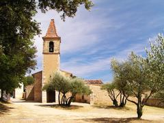 Little church in France - stock photo