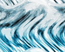 Wave ocean background Stock Photos