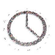 people  shape circle  interest - stock illustration