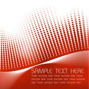 Abstract red background - stock illustration