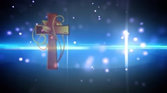 Cross-Backgound (3).mp4 - stock footage