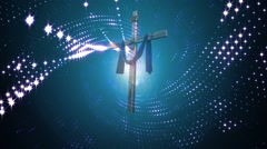 Cross-Backgound (14).mp4 - stock footage
