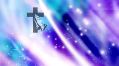 Cross-Backgound (24).mp4 - stock footage
