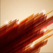 Abstract retro vector background made from stripes - stock illustration
