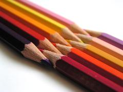 Stock Illustration of Coloured pencils