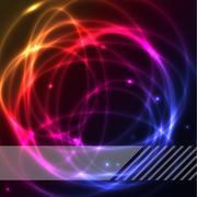 Colorful plasma background Stock Illustration