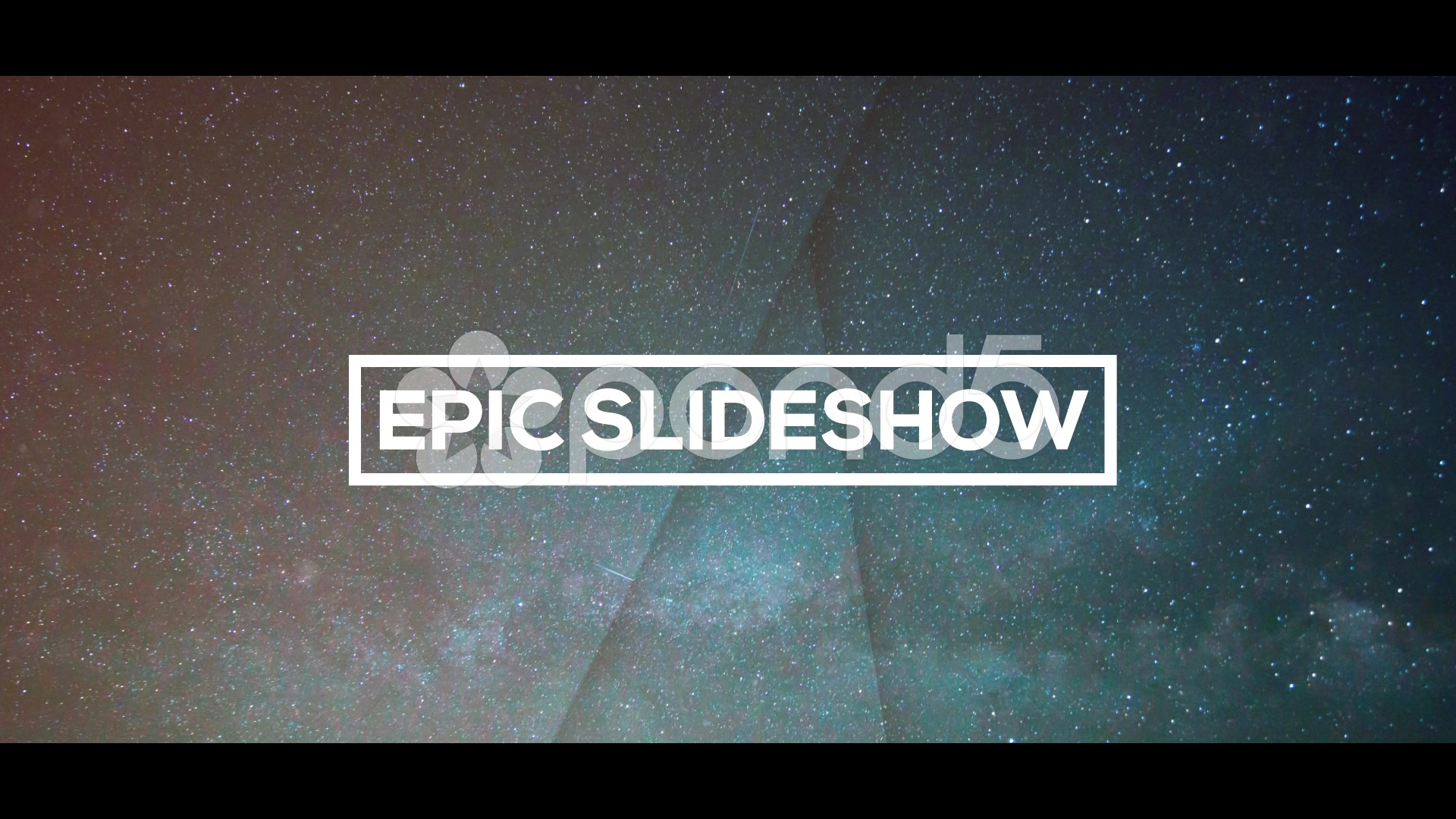 After Effects Project - Pond5 Epic Slideshow 54048237